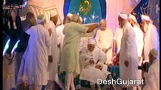 getlinkyoutube.com-Narendra Modi greets Syedna Mohammad Burhanuddin on 101st birthday
