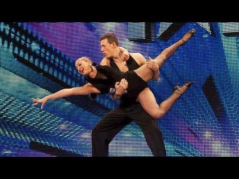 Ballroom dancers Kai and Natalia - Britain's Got Talent 2012 audition - UK version
