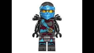 getlinkyoutube.com-LEGO Ninjago 2017 Minifigures!