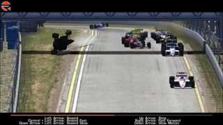 getlinkyoutube.com-rFactor F1 1988 Crashes