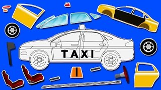 getlinkyoutube.com-Taxi   formation and uses   puzzle games for kids   learn colors