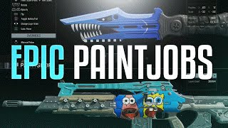getlinkyoutube.com-EPIC PAINT JOBS! My Black Ops 3 Paintshop Designs #1