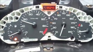 getlinkyoutube.com-arreglar cuadro mando o velocimetro de peugueot 206