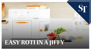 getlinkyoutube.com-Automatic roti maker Rotimatic - How it works