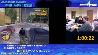 getlinkyoutube.com-Grand Theft Auto 3 - SPEED RUN in 1:31:14 [PC] *Live at AGDQ 2013*