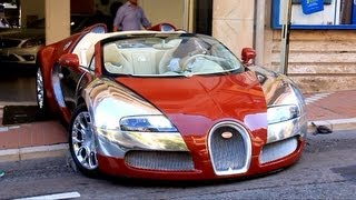 NO SCRATCHING ! Bugatti Veyron 669 Start up & Showroom in Monaco