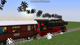 getlinkyoutube.com-Minecraft - Superflat Train Ride