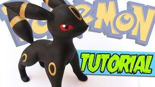 UMBREON Polymer Clay Tutorial | Porcelana Fría / Plastilina