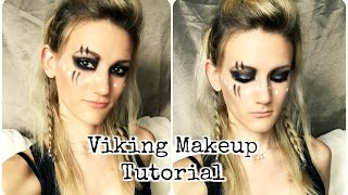 getlinkyoutube.com-Viking Inspired Makeup Tutorial // Makeup Inspiration // Easy and Affordable