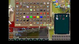 Jogando RuneScape de Códigos