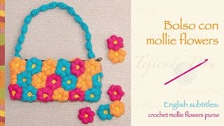 getlinkyoutube.com-Bolso con mollie flowers tejidas a crochet
