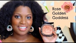 getlinkyoutube.com-84| Rose Golden Goddess Featuring Wet N Wild Fergie Shimmer Palette