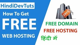 getlinkyoutube.com-How to get free web hosting in Hindi | Hindidevtuts Tech Show Ep#12