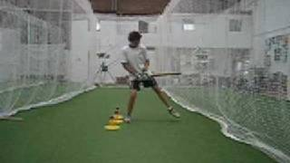 getlinkyoutube.com-Basic Front Foot Batting Drill