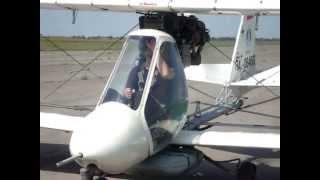 getlinkyoutube.com-Russian  spray AG light plane MAI-890AG  (ахр - авиатика-890CХ)