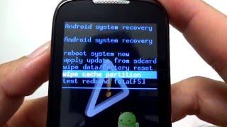 getlinkyoutube.com-Como Formatar Samsung Galaxy i5510 || Hard Reset, Desbloquear. G-Tech