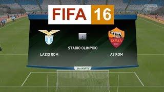 getlinkyoutube.com-Fifa 16: Lazio - AS Roma (HD) (italian)
