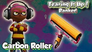 getlinkyoutube.com-Splatoon Multiplayer - Tearing It Up W/ Carbon Roller (I DON'T KNOW WHAT I'M DOING?!)