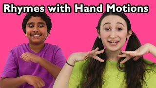 getlinkyoutube.com-Clap Your Hands and More Rhymes With Hand Motions | Nursery Rhymes from Mother Goose Club!