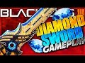 NEW DIAMOND SWORD GAMEPLAY In Black Ops 3 - BO3 DIAMOND FURYS SONG GAMEPLAY NEW DLC WEAPONS