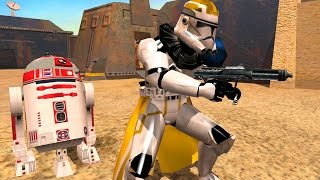 getlinkyoutube.com-Star Wars Battlefront 2 Mods: Mos Eisley Space Port  Skin Changer mod 38th division