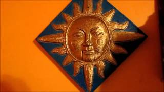 getlinkyoutube.com-Gemmy - Animated Sun Plaque