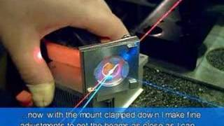 Kinematic Adjustable Optical Mounts