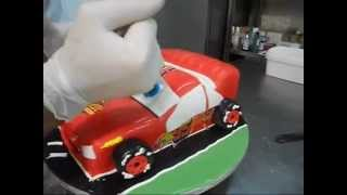 getlinkyoutube.com-Cars 3D cake Agapitos