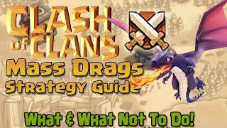 getlinkyoutube.com-Clash of Clans | Mass Dragon Strategy Guide!!!