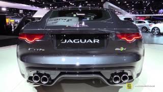 getlinkyoutube.com-2015 Jaguar F-Type AWD R - Exterior and Interior Walkaround - Debut at 2014 LA Auto Show