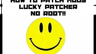 getlinkyoutube.com-Lucky Patcher (NO ROOT) How to patch