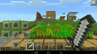 getlinkyoutube.com-Minecraft pe  แจก seed หมู่บ้านnpc