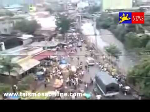 Philippines Earthquake Hit Cebu Yesterday People In Panic Vi
