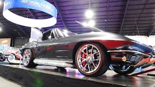 getlinkyoutube.com-1963 Chevrolet Corvette Pro Touring 2016 Auctions America Auburn Fall Collector Car Weekend