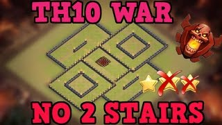getlinkyoutube.com-Clash of Clans | BEST TH10 War Base w/ NEW BOMB TOWER | Town Hall 10 Hybrid Base TESTED