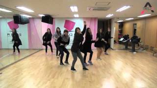 A Pink - My My mirrored dance practice width=