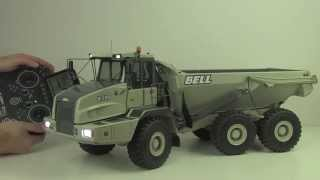 getlinkyoutube.com-Big Toy For Adults only: Review of Awesome RC Dump Truck BELL 35d