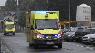 getlinkyoutube.com-Brandweer, MUG & ambulances naar interventies in Vilvoorde