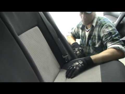 Volkswagen polo. Как снять спинку заднего сиденья на Фольксваген Поло?