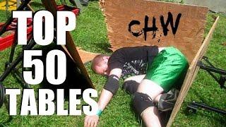 getlinkyoutube.com-Top 50 Tables (Updated) CHW Backyard Wrestling