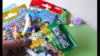 getlinkyoutube.com-Blind Bags - Lego Minifigures, NRL Micro-figure & Wow Pocket Friends