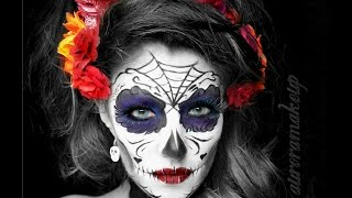 getlinkyoutube.com-CATRINA colorida Tutorial