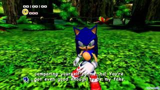 getlinkyoutube.com-Sonic Adventure 2: Battle - [Hero ~ Part 3 ~ Metal Harbor / Boss 3 ~ Shadow / Green Forest]