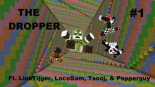 getlinkyoutube.com-Minecraft - The Dropper - Ft. LinkTijger, LocoSam, Tsooj & Pepperguy - #1/3