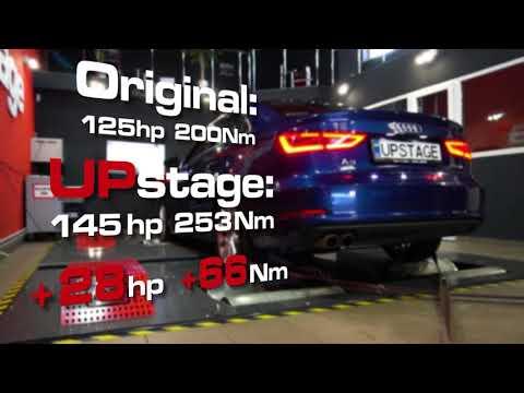 Чип тюнинг Audi A3 1.4TFSI/Chiptuning Audi A3 1.4TFSI by UPstage