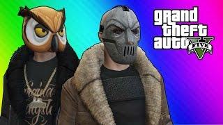 getlinkyoutube.com-GTA 5 Online Funny Moments - Thug Owl vs. Bane (Ill-Gotten Gains DLC)