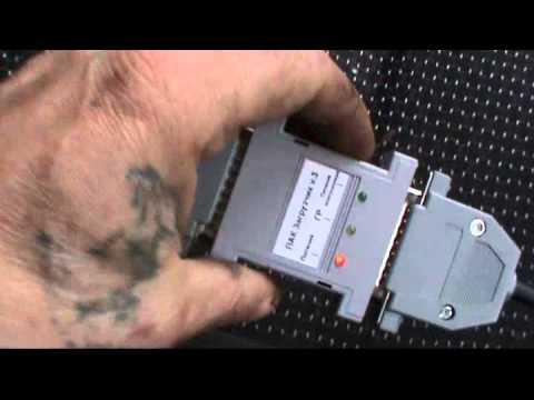 Как подключится для замены прошивки инжектора в машине