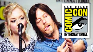 getlinkyoutube.com-Walking Dead Comic Con 2014 Panel - Part 1