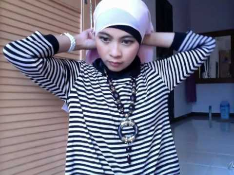 Tutorial Hijab - Rania #3 Flower