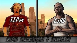 getlinkyoutube.com-como descargar e instalar tip v4 y cj hd para gta san andreas